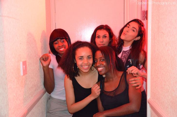 Chloe Walters, Sarah Yesufu, Stella Anderson, Mekzy Hussain and Stephanie Sowaha
